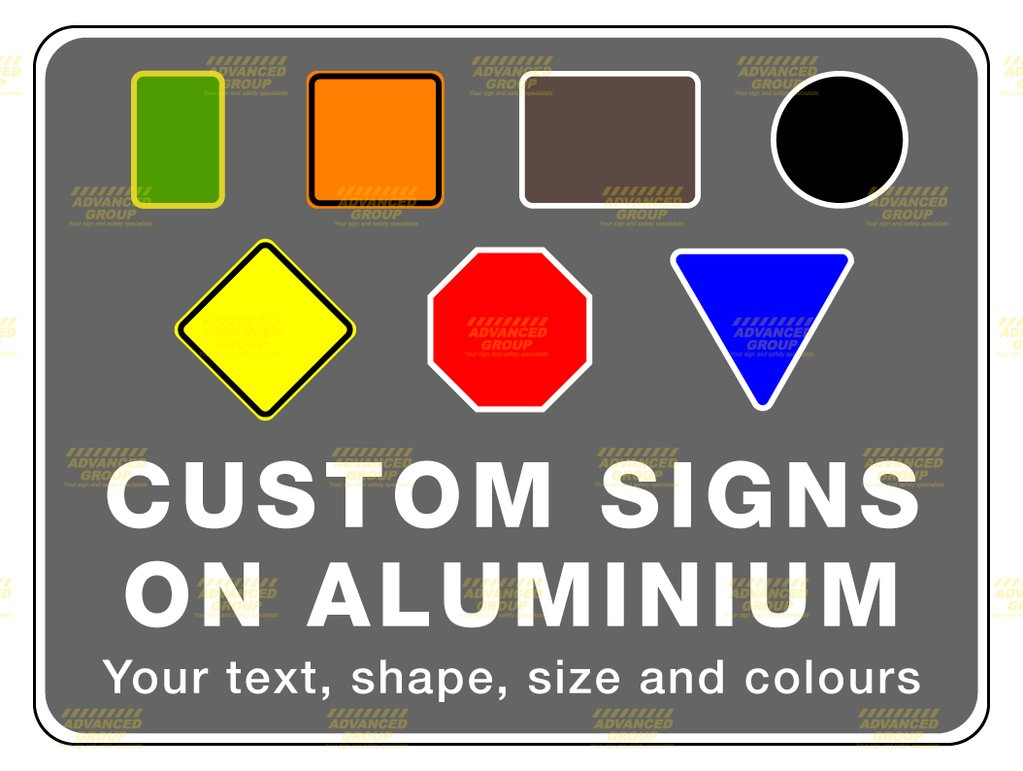 Instant Quote calculator for custom aluminium signs for pole mounting