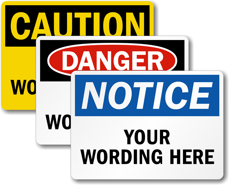 Instant Quote Calculator for Custom Safety Signs